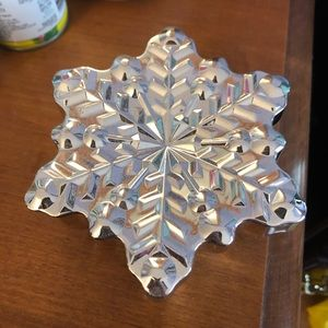 Other - Snowflake jewelry holder